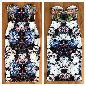 NEW ASOS kaleidoscope mini dress